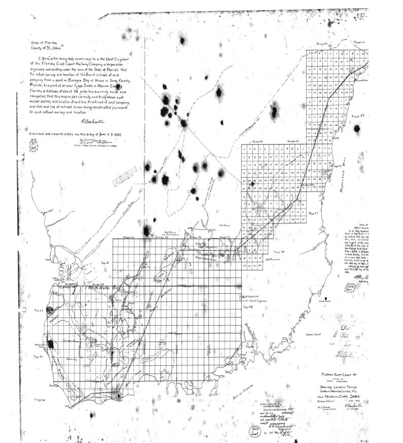 Krome s 1903 Survey