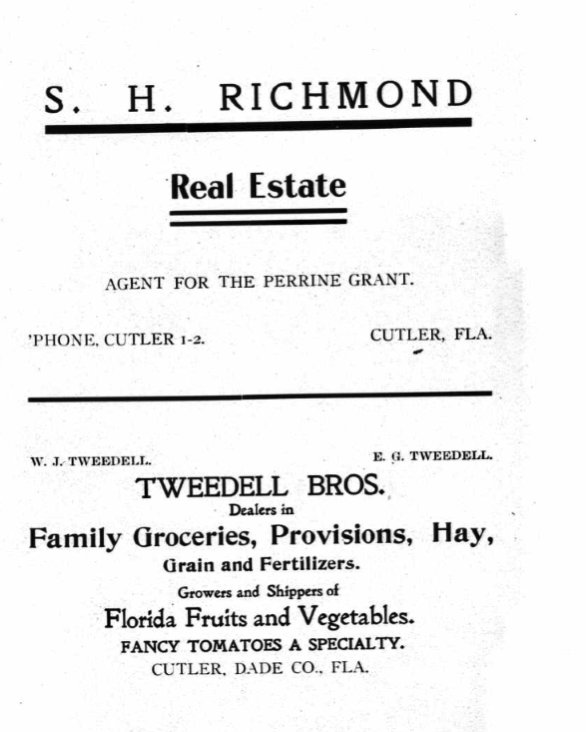 Tweedell Richmond Ad