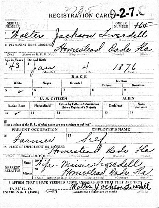 Walter Jackson Tweedell