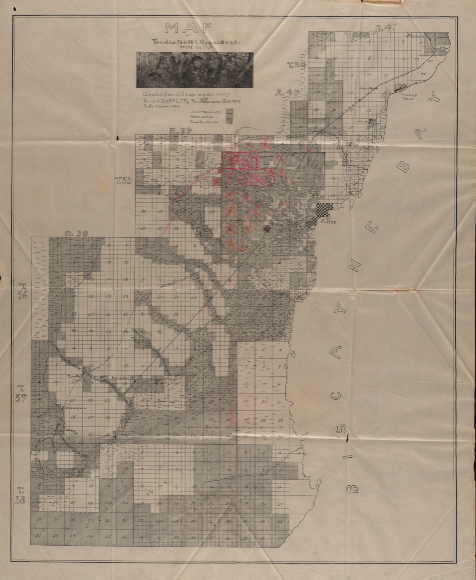 F E C 1903 Map