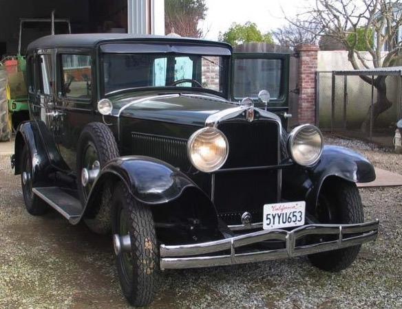 1929 Hupmobile 6