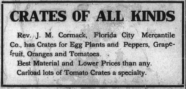 Florida City Mercantile Co