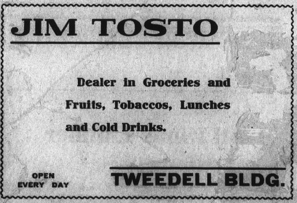 Jim Tosto Ad