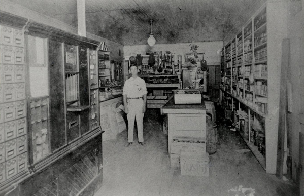 Norwood in his store