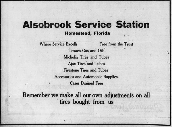 Alsobrook s Filling Station